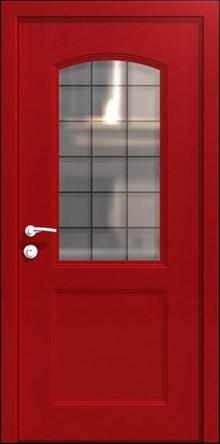 דלת אדומה לבית