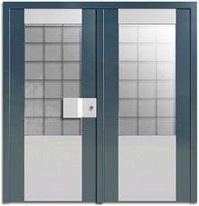 דלתות כניסה פאסקרה דו כנפית - רשפים