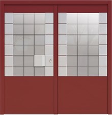 דלתות כניסה אנקונה דו כנפית - רשפים