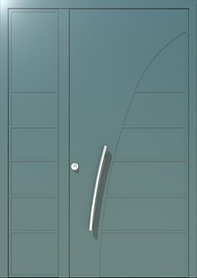 דלתות כניסה פלורנס כנף וחצי