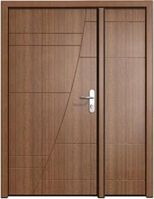 דלתות כניסה דנקנר כנף וחצי