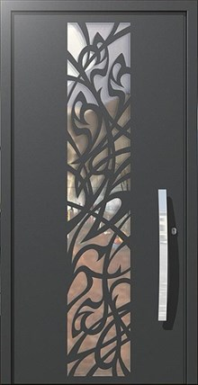 דלתות כניסה ארט נובו - רשפים
