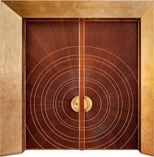 דלתות כניסה קדם דו כנפית - רשפים