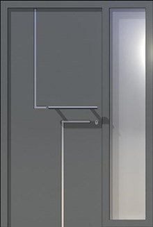 דלתות כניסה סיינה ויטרינה