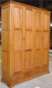 ארון 4 דלתות - Treemium - חלומות בעץ מלא