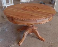 שולחן עגול לפינת האוכל - Treemium - חלומות בעץ מלא
