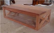 שולחן סלוני - Treemium - חלומות בעץ מלא