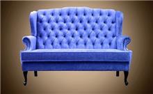 ספה כחולה - Treemium - חלומות בעץ מלא
