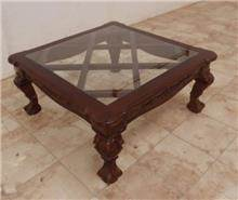 שולחן סלוני מרובע - Treemium - חלומות בעץ מלא