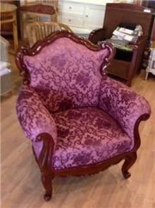 כורסא משולבת עיטורים - Treemium - חלומות בעץ מלא