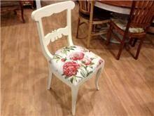 כסא לבן מעוצב - Treemium - חלומות בעץ מלא