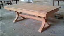 שולחן עץ מלבני - Treemium - חלומות בעץ מלא