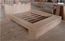 מיטה זוגית בעיצוב מיוחד - Treemium - חלומות בעץ מלא