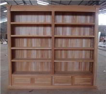 ספריה בגוון טבעי - Treemium - חלומות בעץ מלא