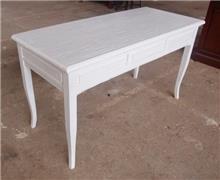 שולחן לבן מעוצב - Treemium - חלומות בעץ מלא