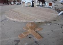 שולחן עגול מיוחד - Treemium - חלומות בעץ מלא