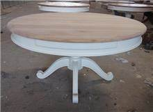 שולחן עגול עץ מלא - Treemium - חלומות בעץ מלא