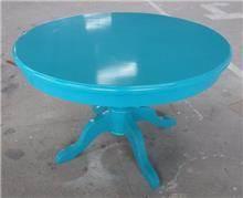 שולחן אוכל טורקיז - Treemium - חלומות בעץ מלא