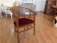 כיסא עץ מלא מהודר - Treemium - חלומות בעץ מלא