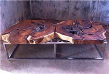 שולחן סלון משולב - Treemium - חלומות בעץ מלא