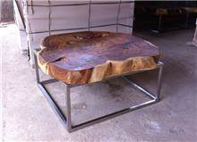 שולחן קפה מרובע - Treemium - חלומות בעץ מלא
