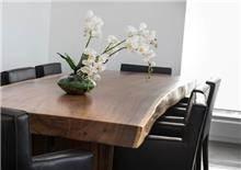 שולחן פינת אוכל מעץ - Treemium - חלומות בעץ מלא