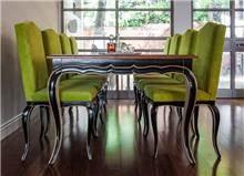 שולחן שחור מעץ מלא - Treemium - חלומות בעץ מלא