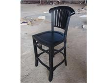 כיסא בר שחור - Treemium - חלומות בעץ מלא