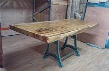 שולחן מגזע פרוס - Treemium - חלומות בעץ מלא