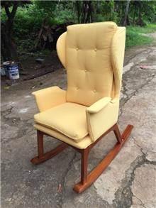 כיסא נדנדה מפואר מעץ מלא  - Treemium - חלומות בעץ מלא