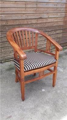 כיסא עץ מלא מפנק - Treemium - חלומות בעץ מלא