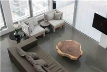שולחן סלון מרהיב מעץ - Treemium - חלומות בעץ מלא