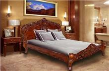 מיטה זוגית עץ מלא - Treemium - חלומות בעץ מלא