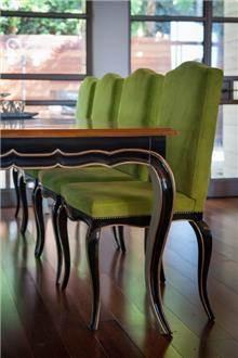 כסא ירוק - Treemium - חלומות בעץ מלא