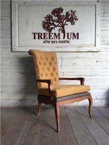 כורסא מעוצבת מבד