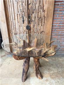 שולחן פינת אוכל שורש - Treemium - חלומות בעץ מלא