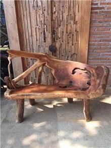 ספסל שורש 150 - Treemium - חלומות בעץ מלא