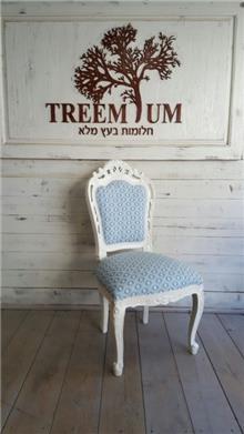 כיסא אוכל פרובאנס - Treemium - חלומות בעץ מלא