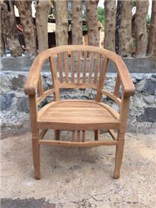 כסא עץ מלא מטיק - Treemium - חלומות בעץ מלא