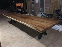 שולחן גזע 4 מטר - Treemium - חלומות בעץ מלא