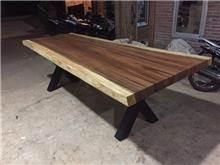 שולחן גזע 2.5 מטר - Treemium - חלומות בעץ מלא