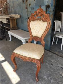 כיסא מהגוני דגם 1277 - Treemium - חלומות בעץ מלא