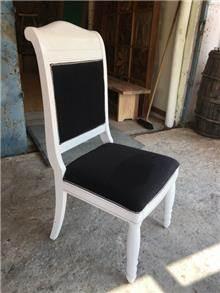 כסא מפואר לבן - Treemium - חלומות בעץ מלא