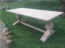שולחן אבירים מעץ 5114 - Treemium - חלומות בעץ מלא