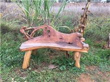 ספסל שורש 130 - Treemium - חלומות בעץ מלא