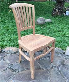 כסא עץ מלא 5133 - Treemium - חלומות בעץ מלא