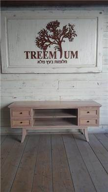 מזנון עץ 2059 - Treemium - חלומות בעץ מלא