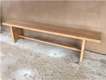 ספסל עץ מלא 2226 - Treemium - חלומות בעץ מלא
