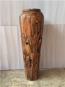 כד עץ טיק - Treemium - חלומות בעץ מלא