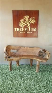 ספסל טיק יפיפה 150 - Treemium - חלומות בעץ מלא